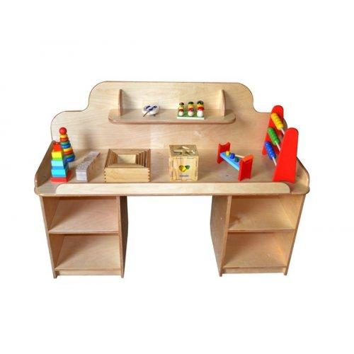 Стол дидактический с набором игрушек ЛДСП